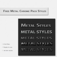 Metal Chrome Pack Styles