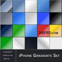 iPhone Gradients Set