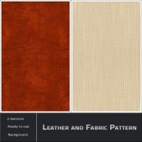 Leather and Fabric Pattern