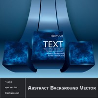 Abstract Background Vector with layer text