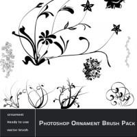 Photoshop Ornament Brush Pack