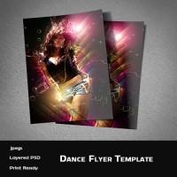 Dance Flyer Template (PSD)