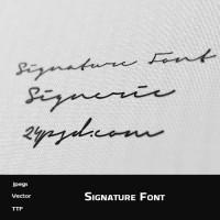 Signature Font ( Signeric )