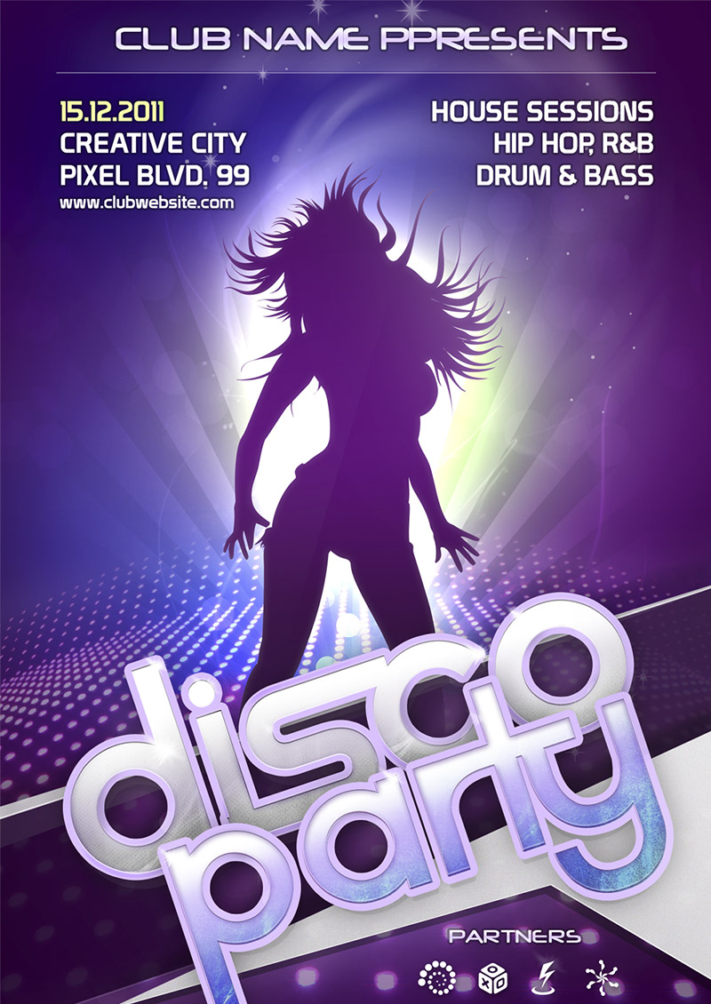 categories free psd tagged with a6 template clean colorful dancing ...