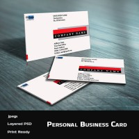 Personal Business Card Template (PSD)