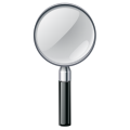 Magnifying Glass icon with vector and psd files