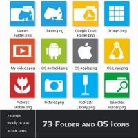 73 Folder and OS Icons