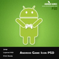 Android Games Icon PSD
