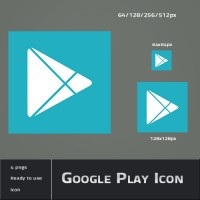 Google Android play icon