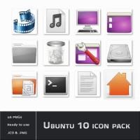 Ubuntu 10 icon pack