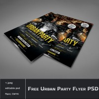 Urban Party Flyer Template (PSD)