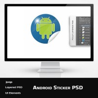 Android Sticker Template