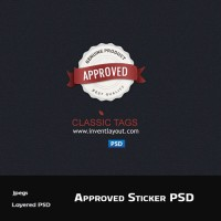 Approved Tag PSD
