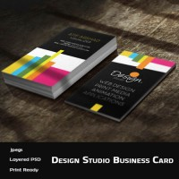 Design Studio Business Card (PSD)