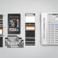 Amazon Kindle Fire PSD Templates