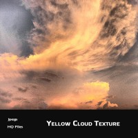Yellow Cloud Background