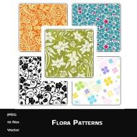 Flora Background Patterns