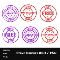 Stamp Brushes (PSD and ABR)