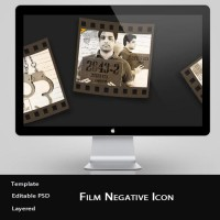 Free Film Negative Icon