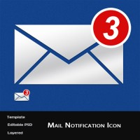 E-Mail Notification Icon
