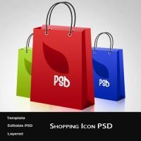 Free Shopping Bag Icon PSD