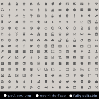 600+ Free Handcrafted Glyph Icons