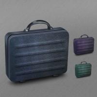 Black Leather Briefcase Icon