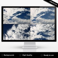 Blue Sky Cloud Backgrounds
