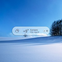 Weather Popup PSD