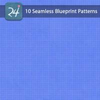 10 Seamless Blueprint Patterns