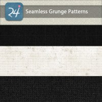 Set of Seamless Grunge Patterns