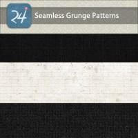 Set of Seamless Grunge Patterns