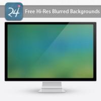 20 Free Hi-Res Blurred Backgrounds