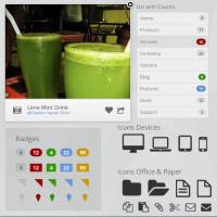 Free PSD UI Kit
