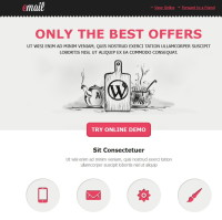 Free Clean HTML Email Template