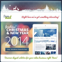 Free Christmas and New Year Email Template