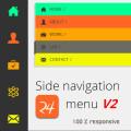 html css responsive navigation menu