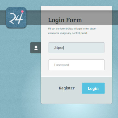 CSS3 Login Form Template