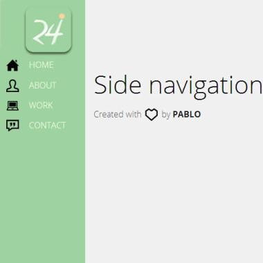 Leftside Navigation Menu CSS
