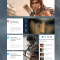 tombraider blog psd