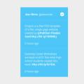 twitter tweets widget